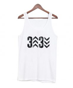 3 up 3 down tank top