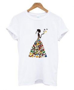 Butterfly Dress T Shirt