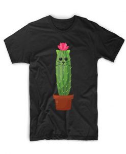 Cactus Cat T Shirt