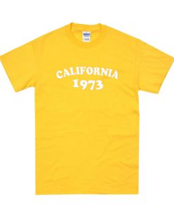 California 1973 T shirt