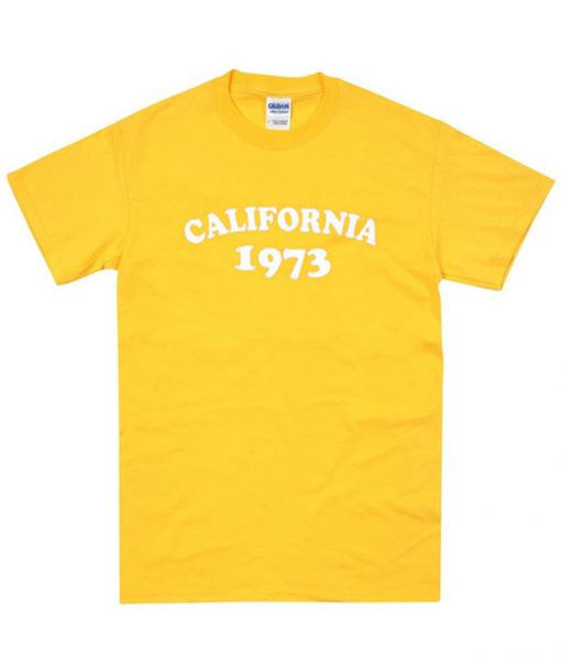 California 1973 T shirt