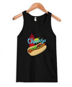 Chicago Hot Dog Tank Top