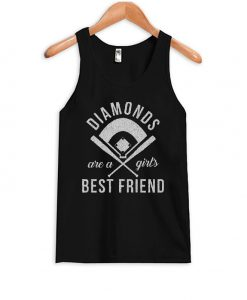 Diamonds Are Girls Best Friend Tank Top
