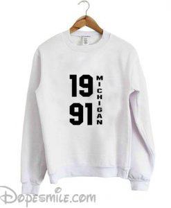 1991 MICHIGAN sweatshirt