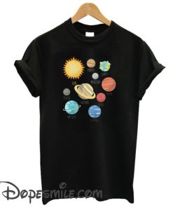 Planets Solar System cool T Shirt