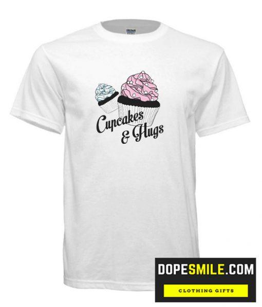 Cupcakes and Hugs cool T Shirt