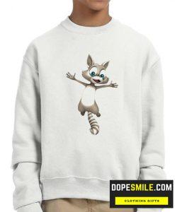 Cute Racoon cool Sweatshirt