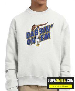 Dab Steph Curry cool Sweatshirt