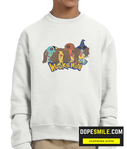 Wookemon cool Sweatshirt