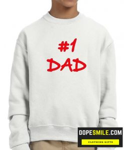 #1 Dad cool Sweatshirt