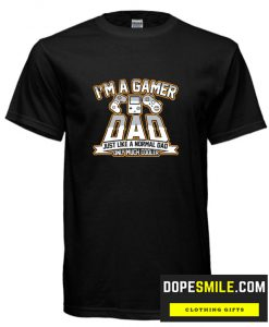 Gamer Dad cool T Shirt