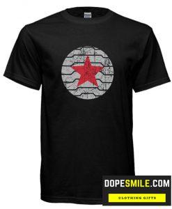 Winter Soldier retro distressed logo cool Tshirt