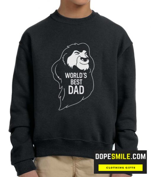 World Best Dad cool Sweatshirt