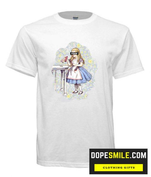 Trippy Alice T shirt