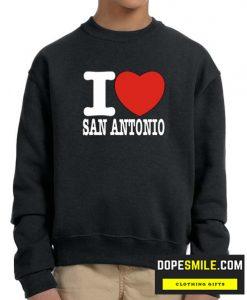I Love San Antonio cool Sweatshirt