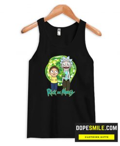 Cute Rick and Morty cool Tank top
