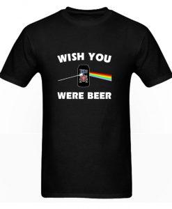 Wish You Were Beer Miller Lite Pink Floyd RS T Shirt