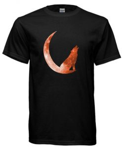 Wolf Blood Moon RS T shirt