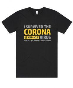 with coronavirus slogans RS T shirt