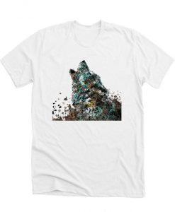 wolf graphic tee RS T shirt