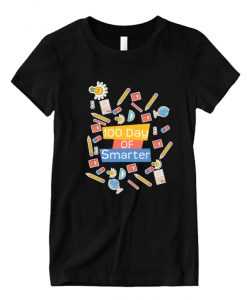 100 day of school 100 day of smarter RS T-Shirt