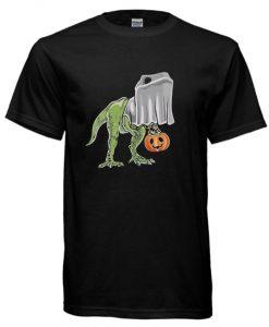 T-REX Dinosaur Funny Halloween cool T-shirt